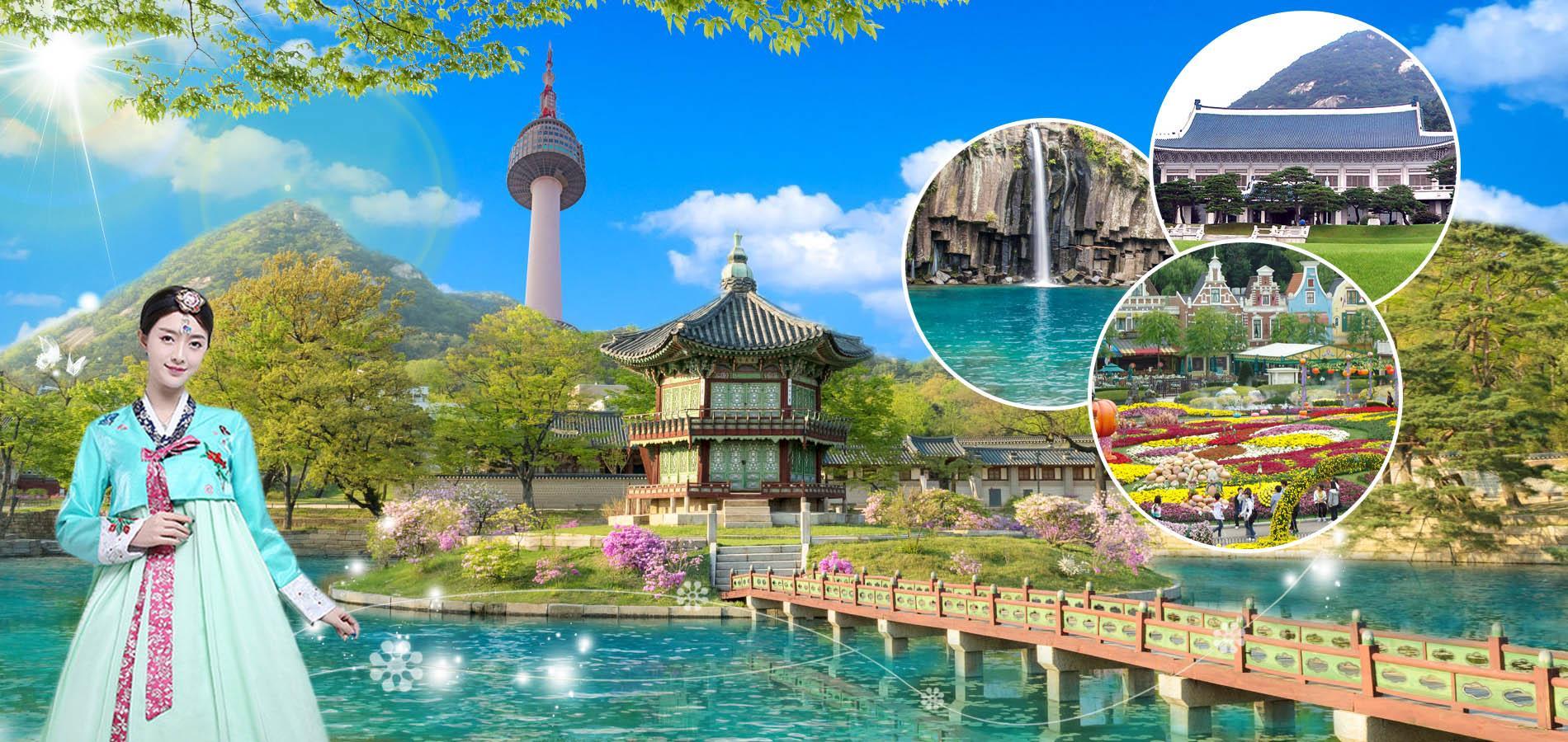 Tour Du Lịch HÀN QUỐC:SEOUL – SUWON – EVERLAND – NAMI 5N4Đ